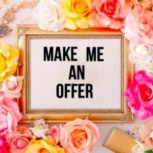 Make me an offer !